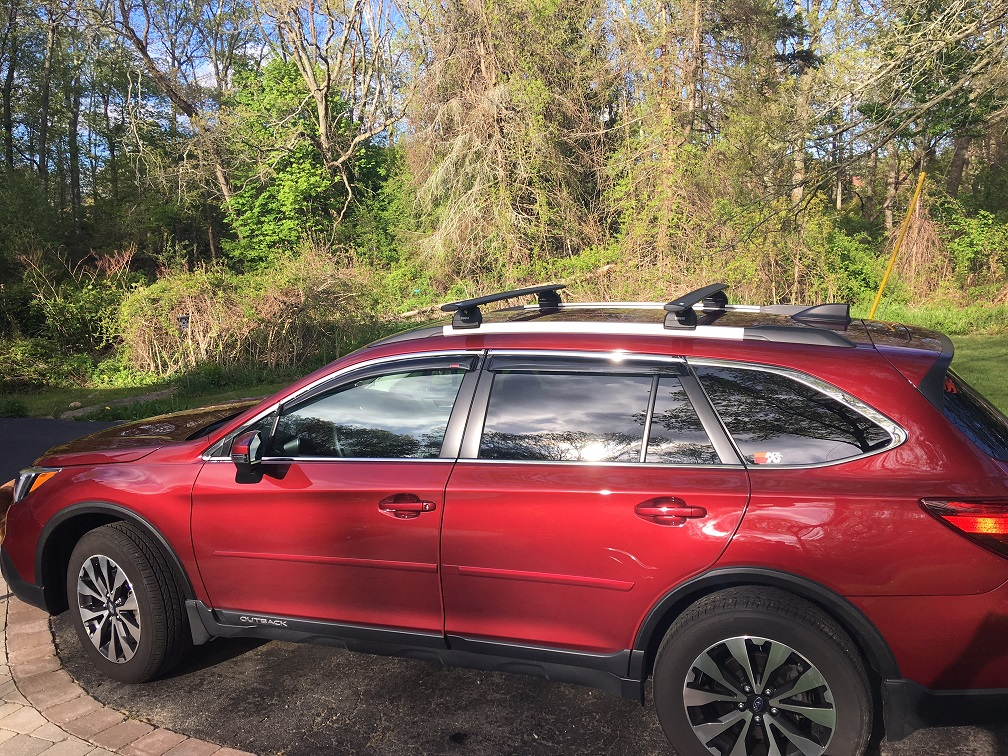 2017 Limited With Touring Rails Thule Cross Bars Etc