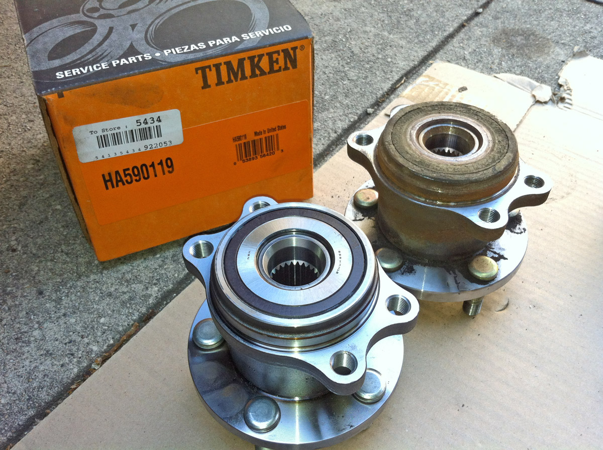 05-'09 - Replacing rear wheel bearing | Page 2 | Subaru Outback Forums