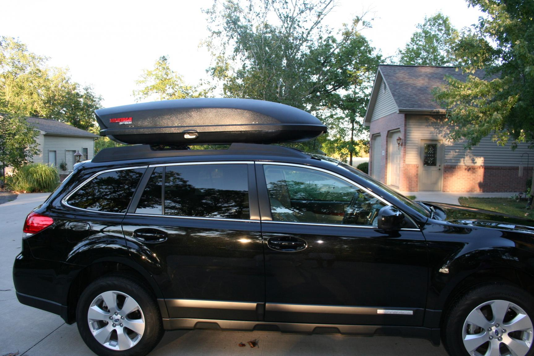Yakima thule roof cargo box thread page 25 subaru outback click image for larger version name img1503g views 8996 size 2865 buckeye outback is offline vanachro Images