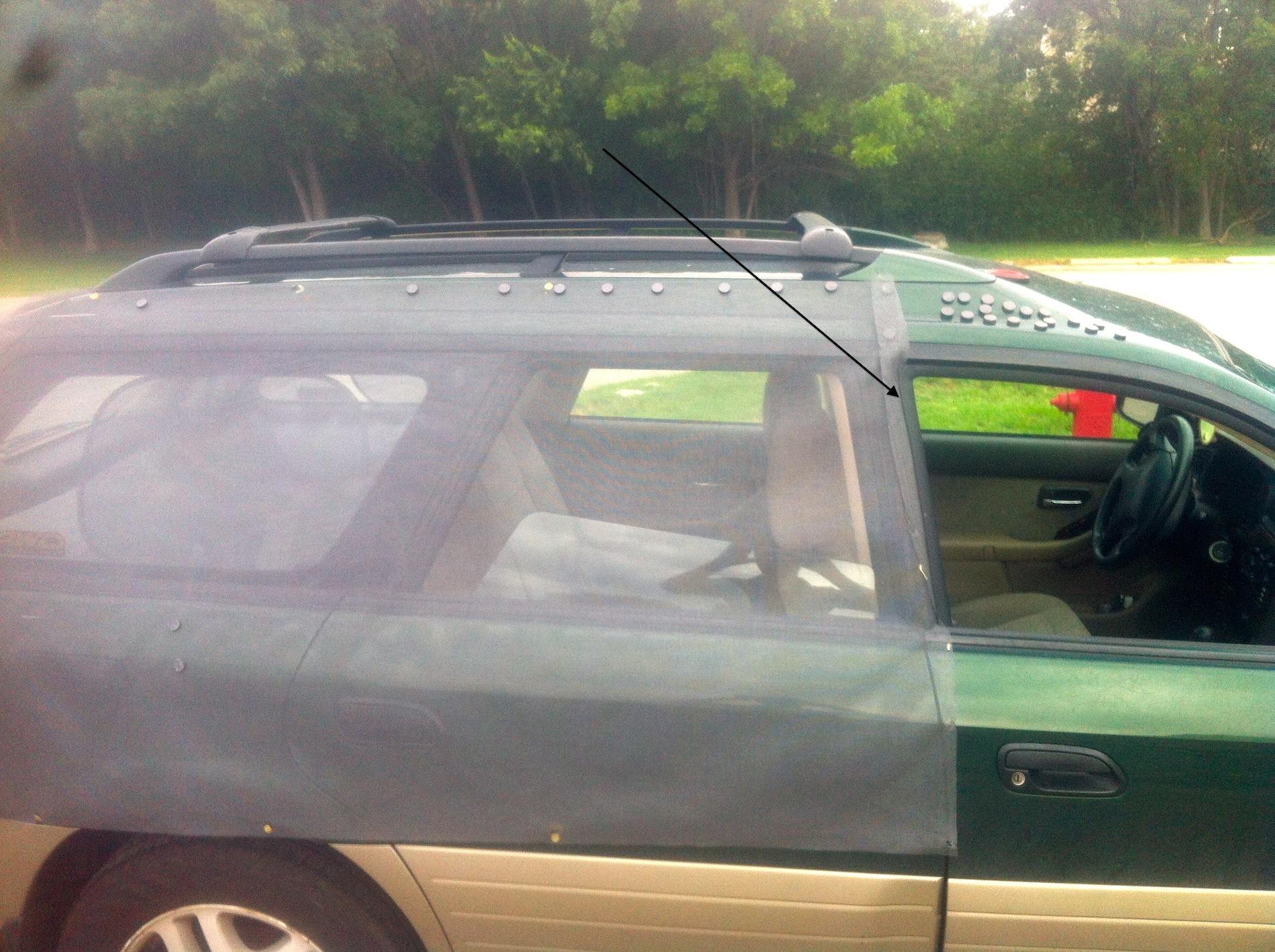 DIY: Mosquito Screen/Window Screen - Subaru Outback ...