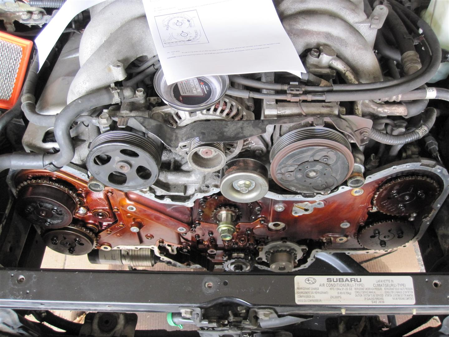 Ll Bean Subaru >> 3.0 H6 Timing Chain and Guide Discussion - Page 3 - Subaru ...
