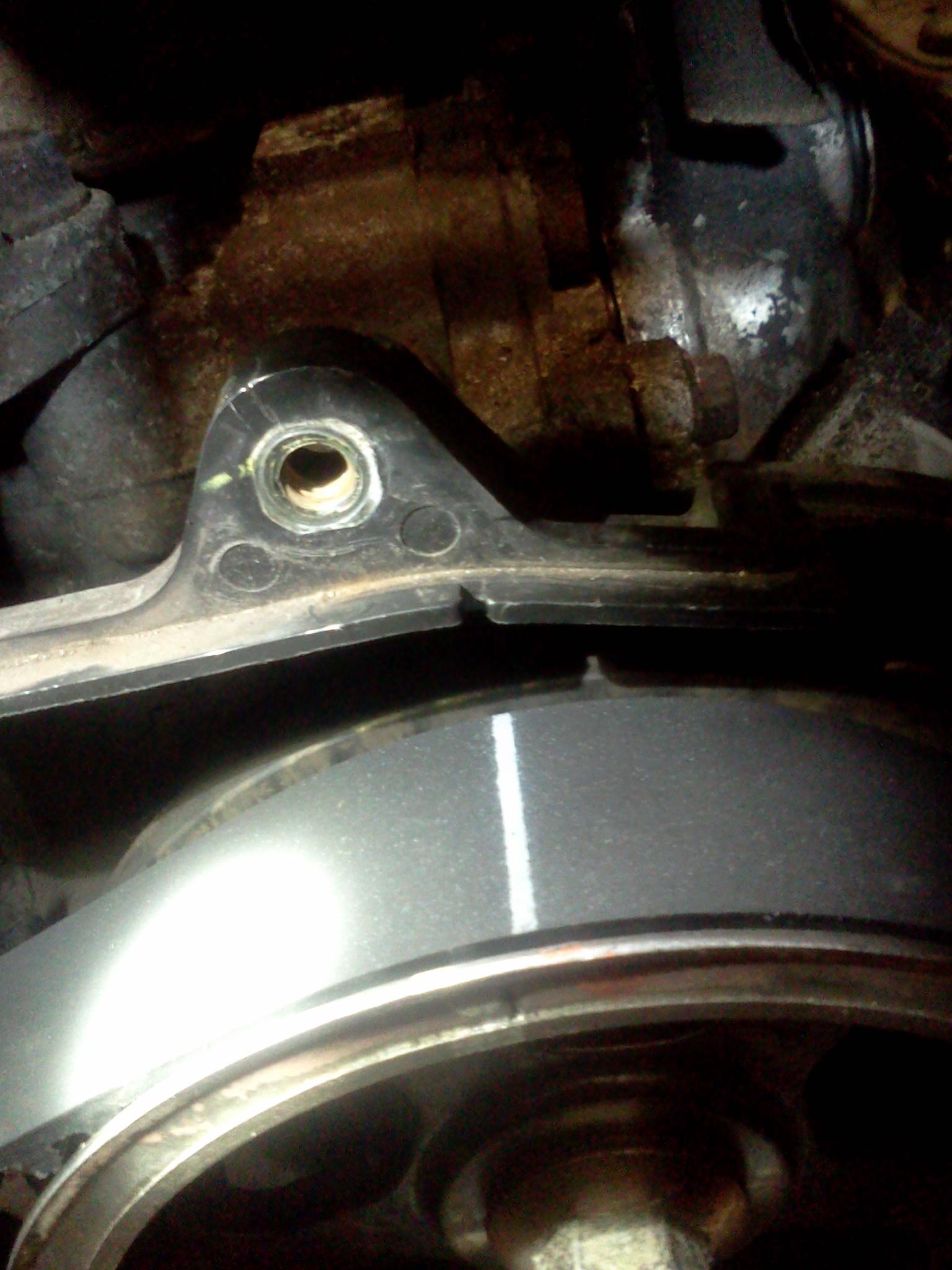 D Timing Belt Mark Problems Img on Subaru Timing Belt