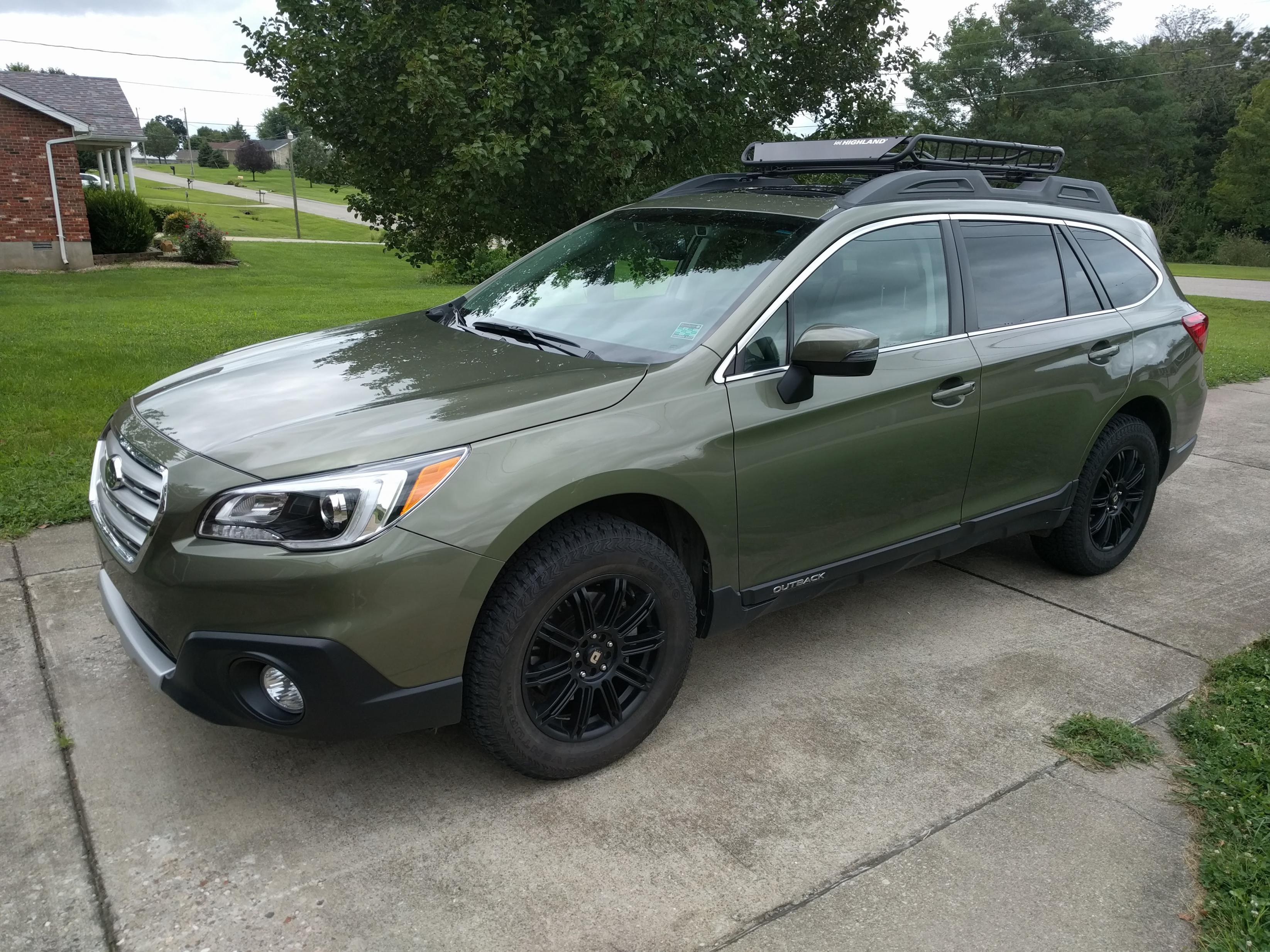 New Member (with new tires :) - Subaru Outback - Subaru ...
