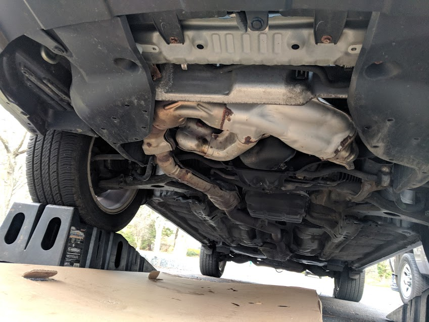 Engine Under Cover - Subaru Outback