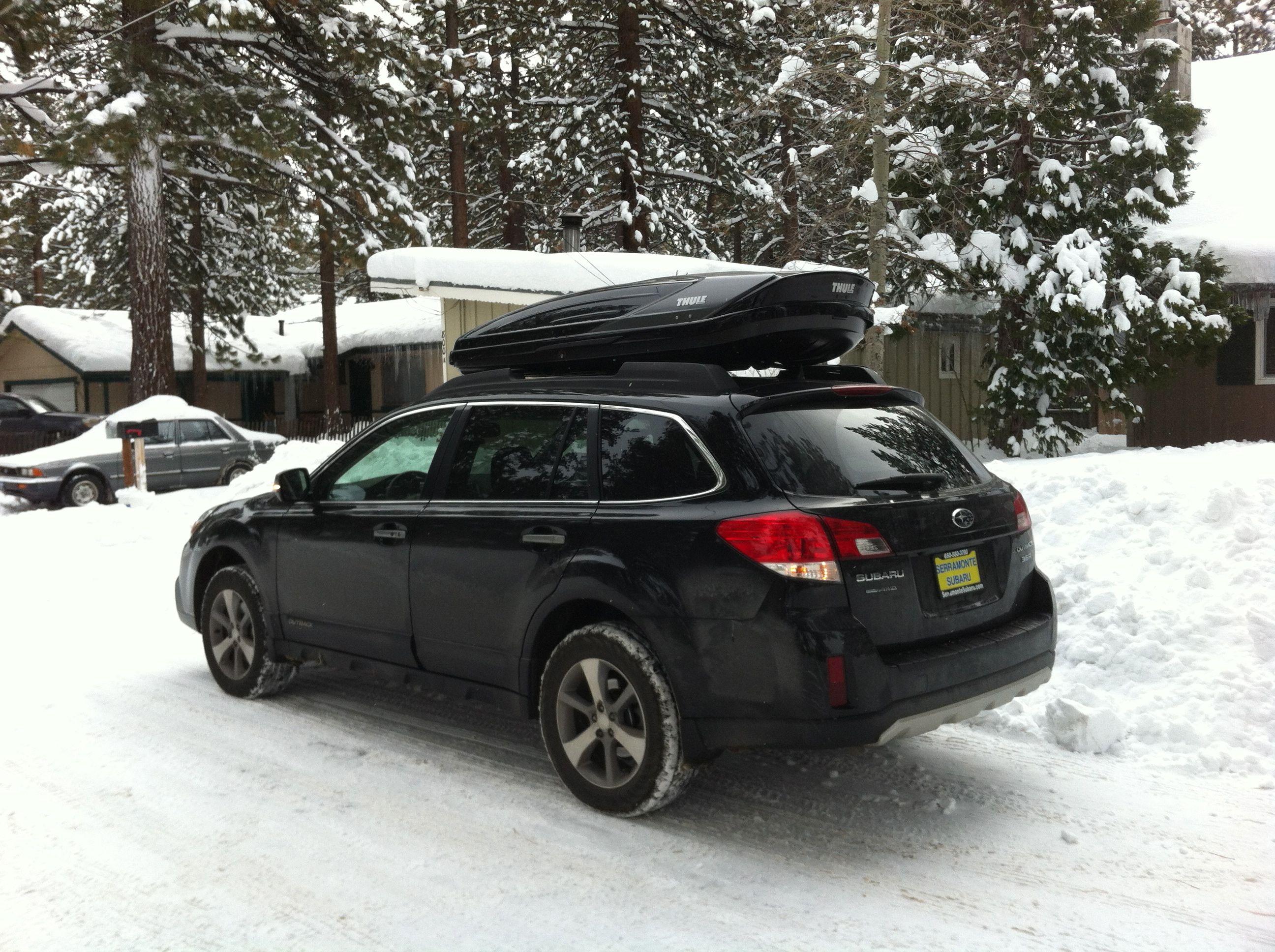 Yakima Amp Thule Roof Cargo Box Thread Page 27 Subaru