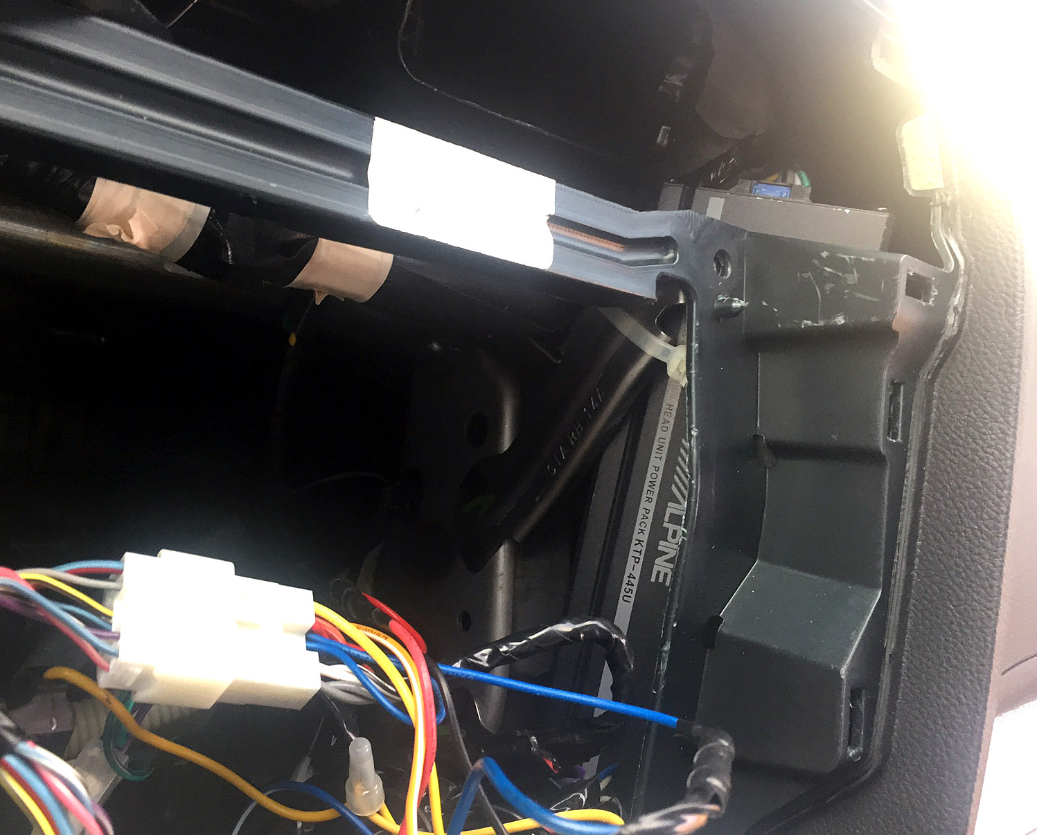 Alpine Ktp 445u Powerpack Amp Installation In 2015 Outback Page 3 Power Pack Wiring Diagram Img 3311
