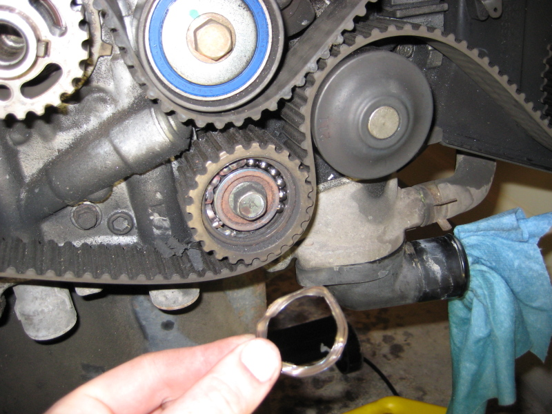 2.5 broken timing belt/cam sprockets - Subaru Outback ...