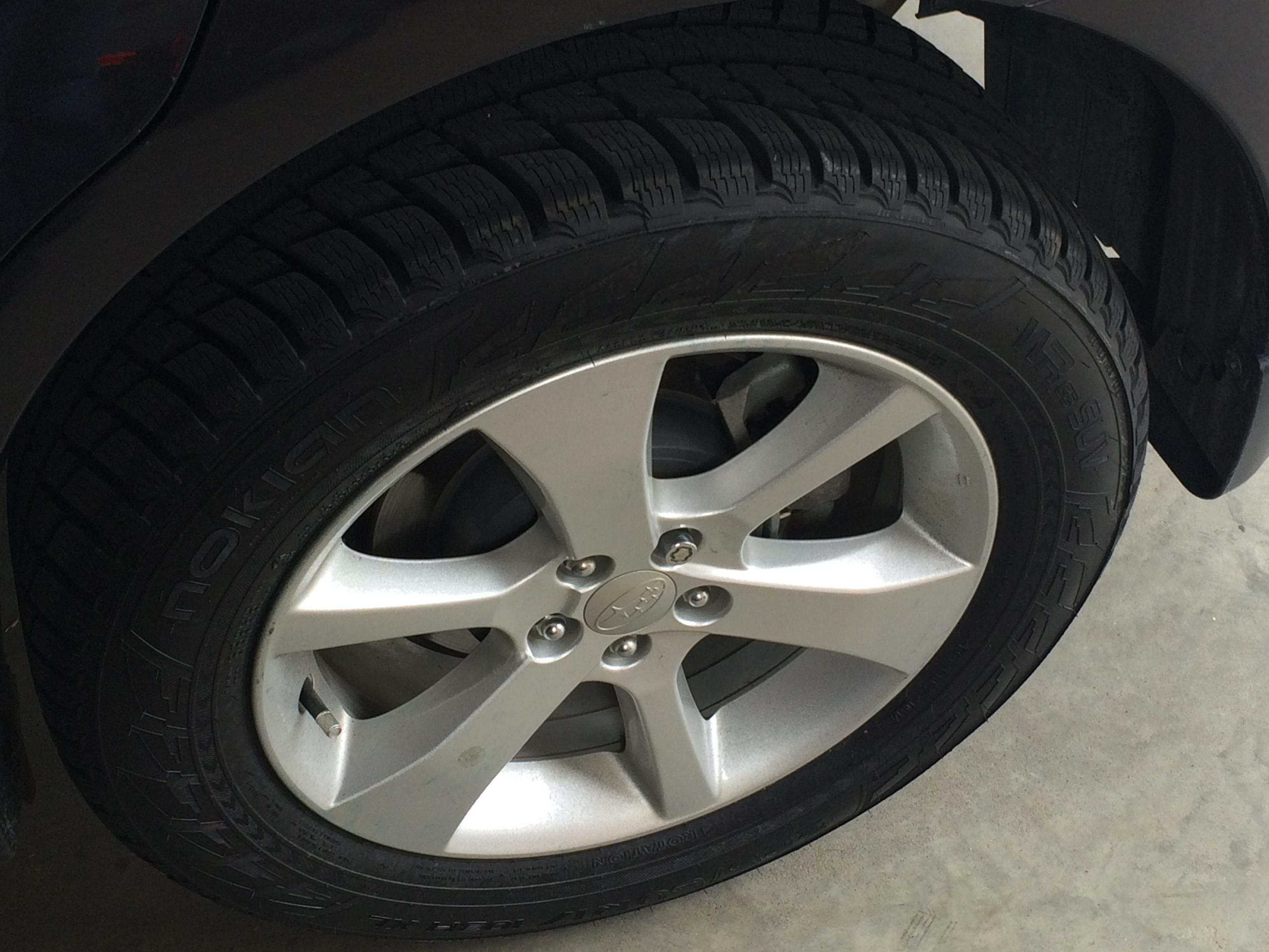 Nokian wrg3 new sizes will they fit page 2 subaru outback