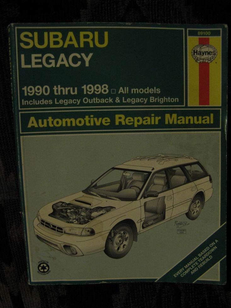 haynes repair manual subaru legacy outback 90 98 subaru outback rh subaruoutback org 1998 subaru outback repair manual pdf 1998 subaru legacy outback manual