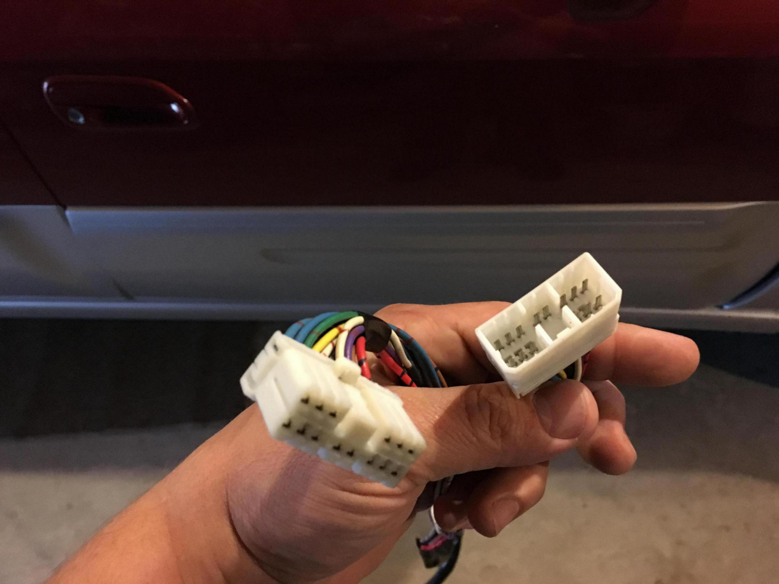 Extra Wiring Harness Behind Stereo Subaru Outback Impreza Front Speaker Click Image For Larger Version Name Img 7694 1493296884762 Views 127 Size 3402