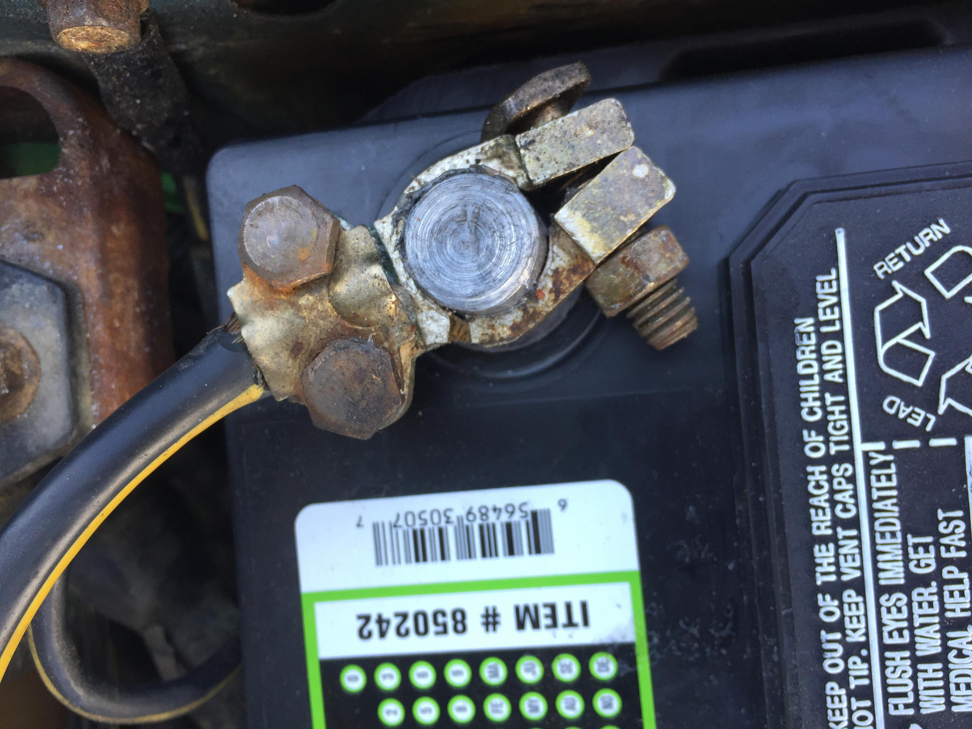 Sources for negative battery terminal clamp? | Subaru Outback Forums
