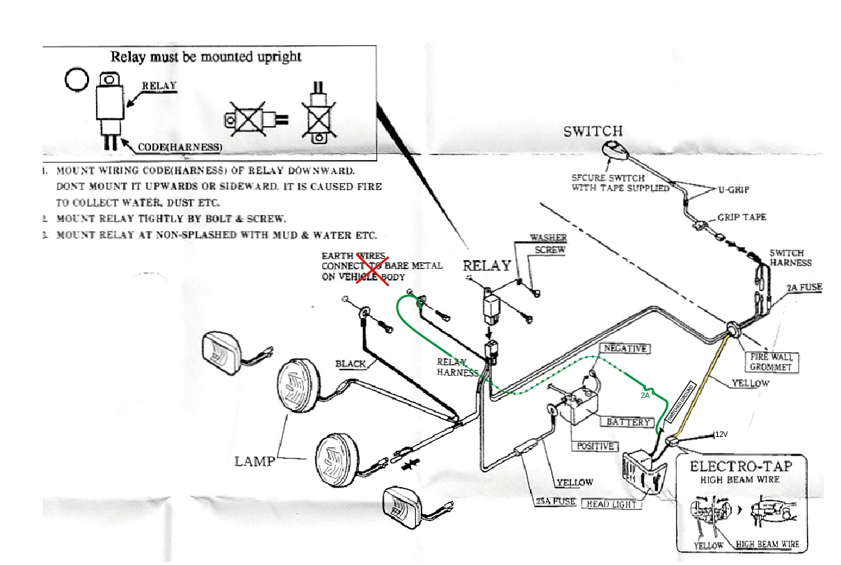 Subaru Outback Driving Light Wiring Diagram | Wiring Diagram