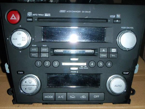Jdm Head Unit Swap Subaru Outback Forumsrhsubaruoutbackorg: 2007 Subaru Legacy Audio At Gmaili.net