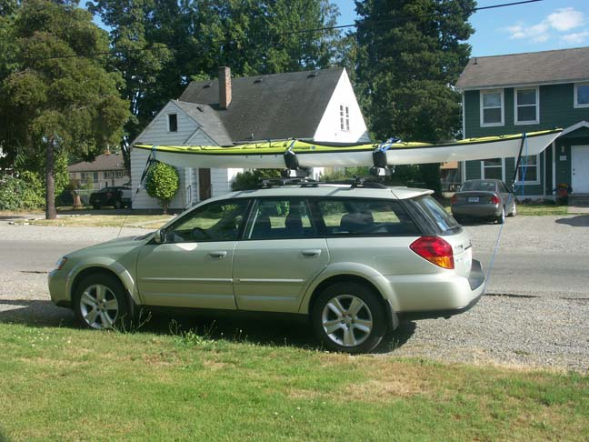 Image For Larger Version Name Kayak Email Jpg Views 18067 Size Roof Rack Experience Subaru Outback