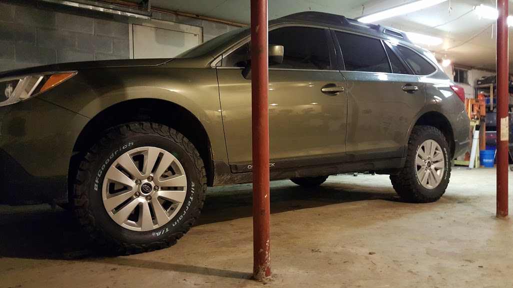 Oversized tires....what are you running? - Subaru Outback ...
