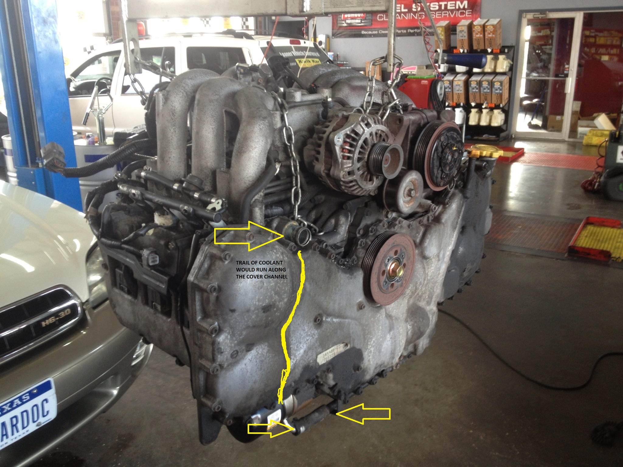 03 Outback H6 Water Pump Issue Subaru Cooling Diagram Forums