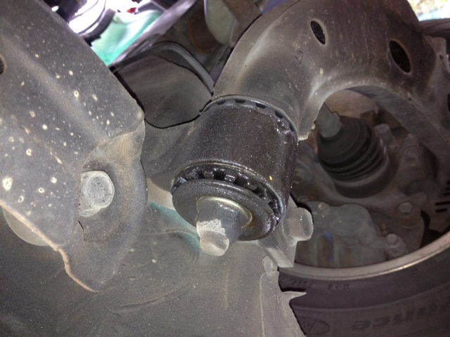 Front control arm bushings leaking-leftfrontbushing.jpg