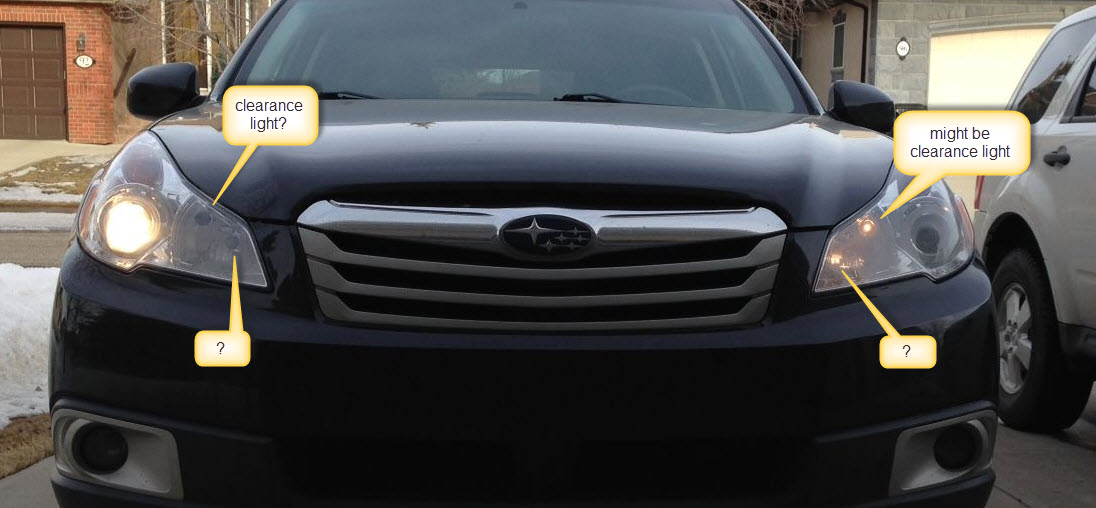 2012 Outback What Light Isn T Working With Pics