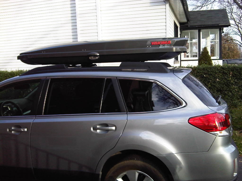 Yakima Amp Thule Roof Cargo Box Thread Page 11 Subaru