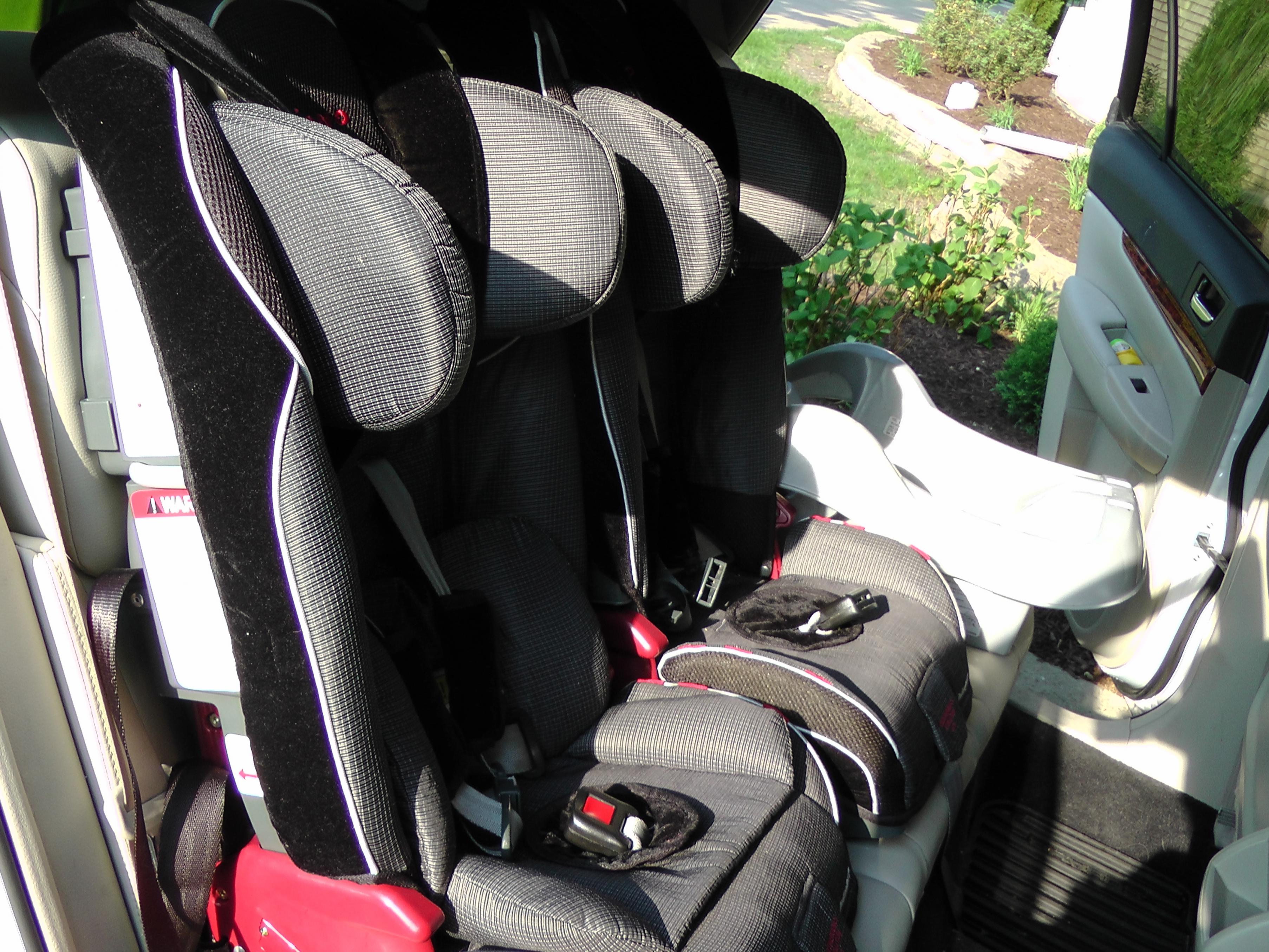 how to move and fit car seats