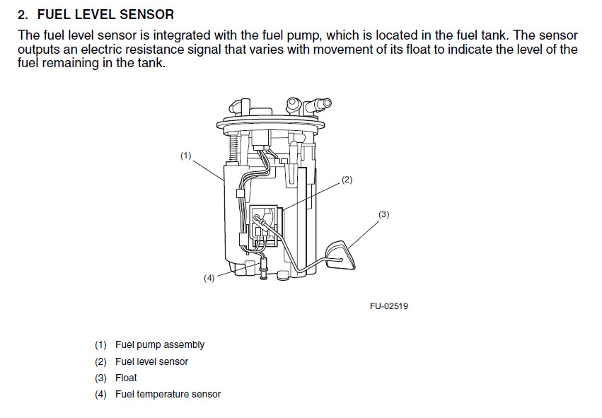 2 wire fuel gauge diagram    1280 x 720