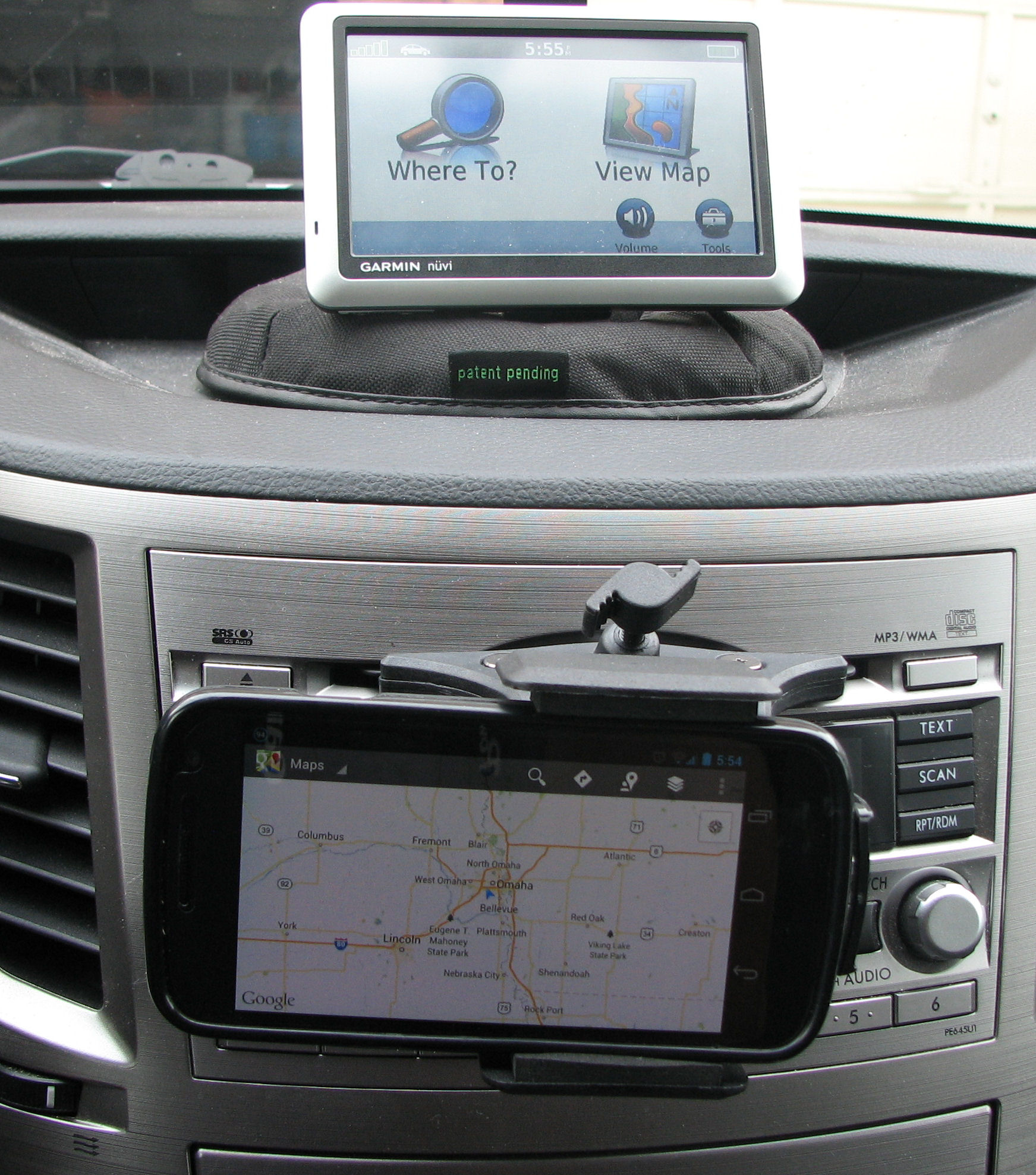 Review Of Gps Phone And Tablet Mounts Subaru Outback