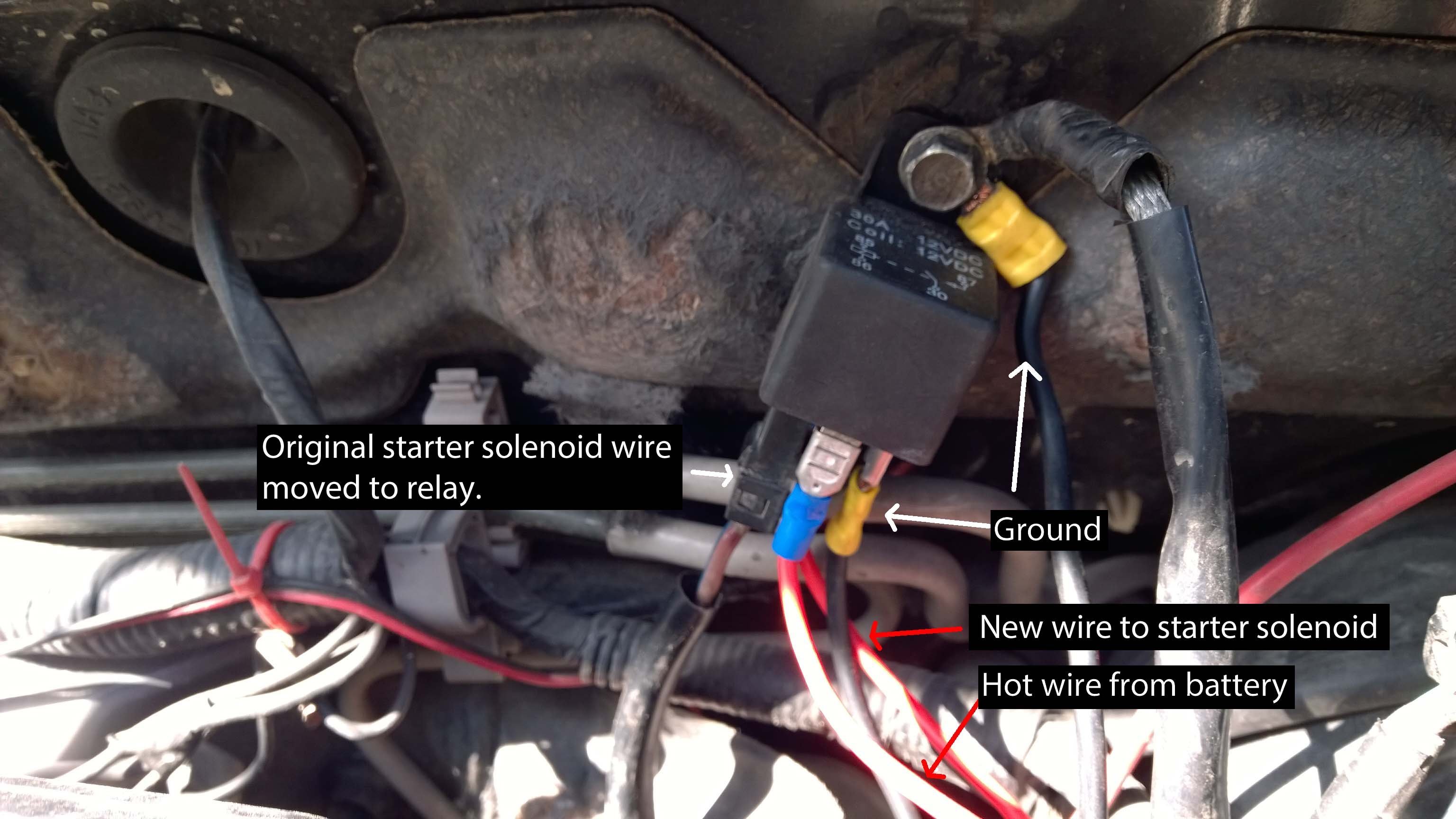 Starter Solenoid Wiring Diagram With Attached Library 12 Volt Auto Coil Diagrams Thumbnails