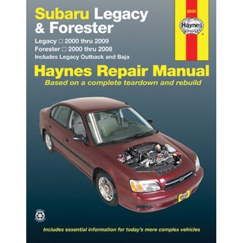 Subaru Legacy 2000-2009 & Forester 2000-2008 Repair Manual (Hayne's