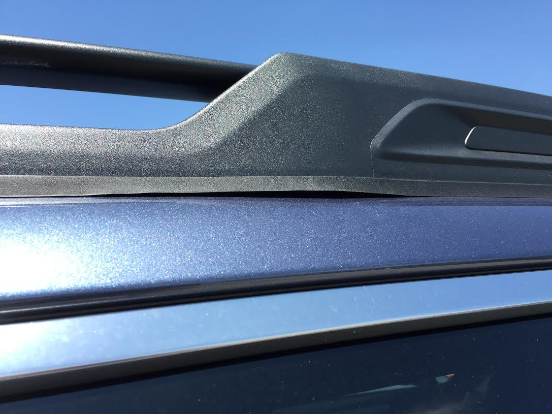 Defective Warped Roof Racks On Brand New 20016 Outback