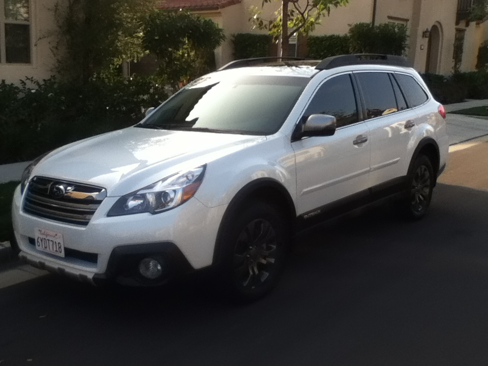 OEM Subaru wheels from other models on Gen4 Outback ...