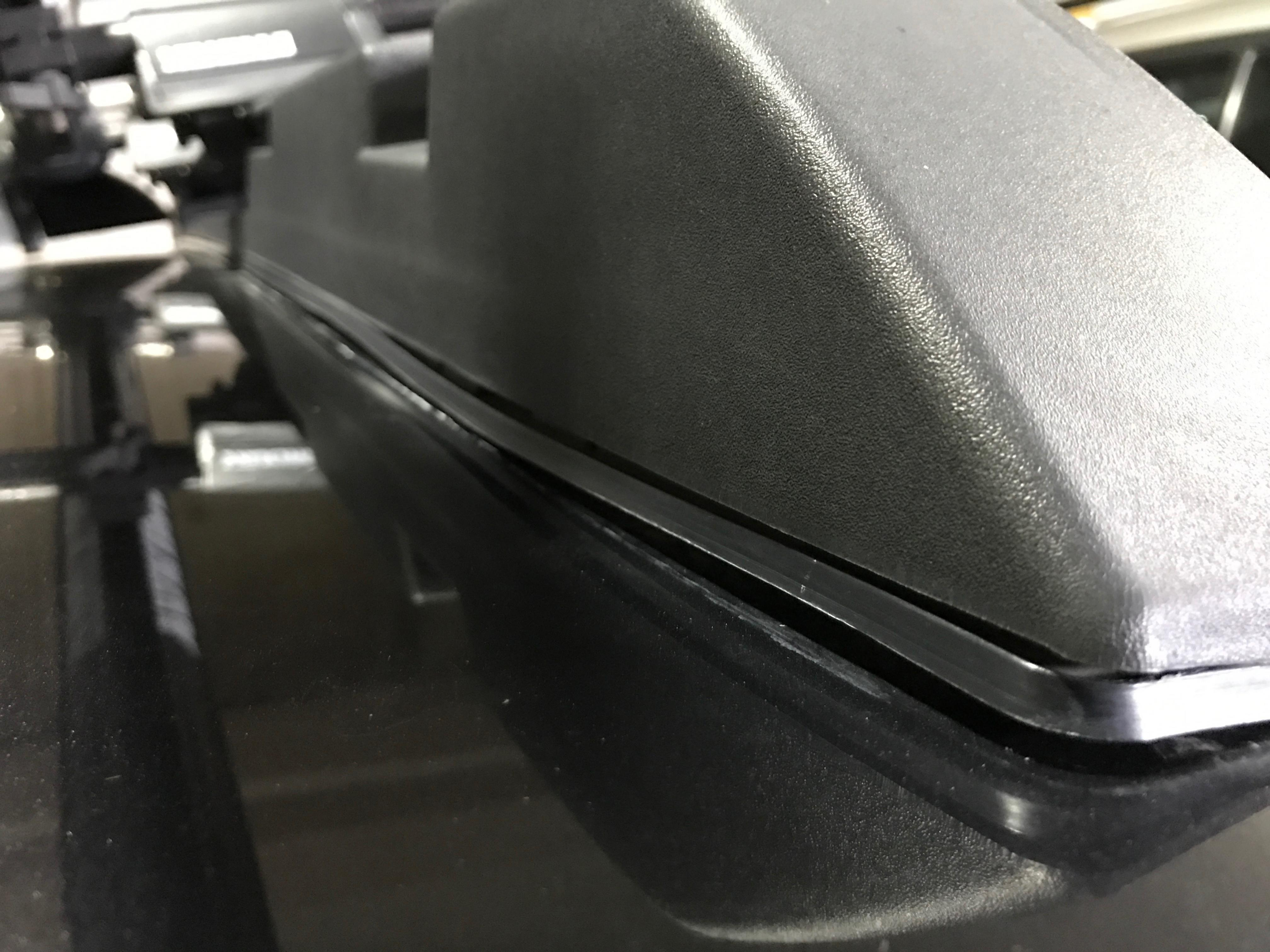 Subaru outback roof rack problem