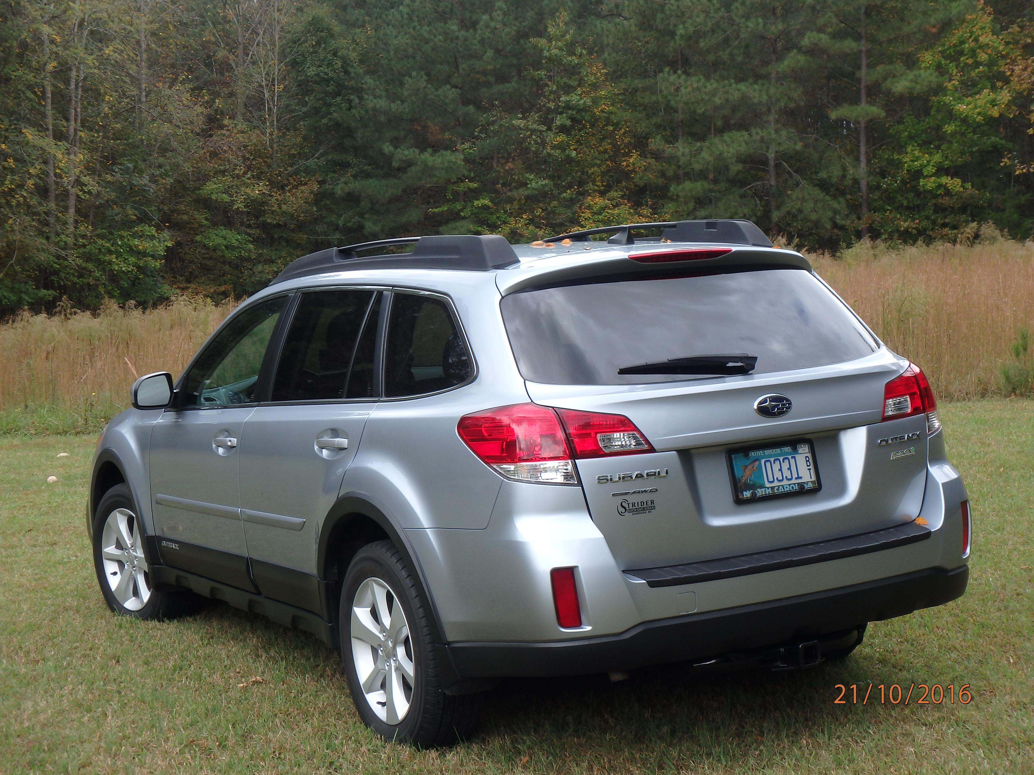 Installing a hitch on a 2013 Outback Subaru Outback