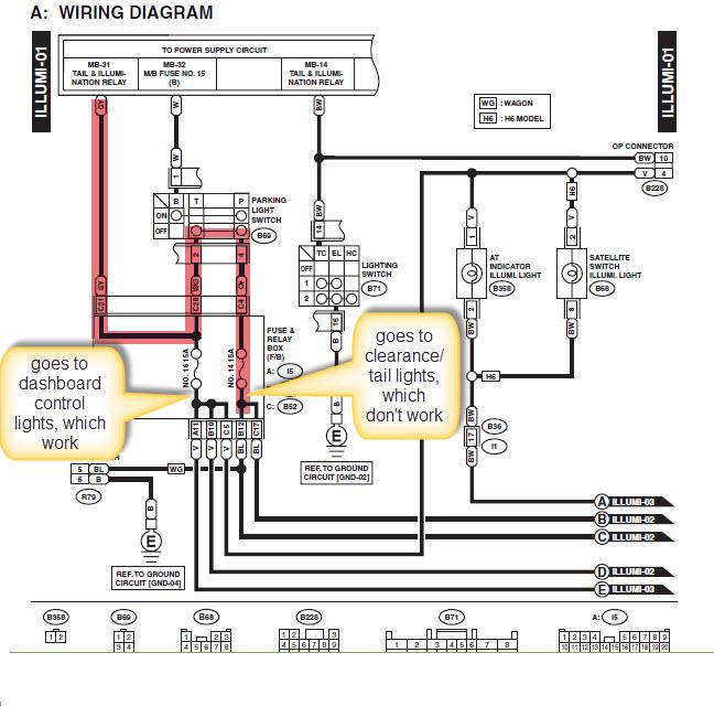 impreza subaru relay diagram: subaru outback forums