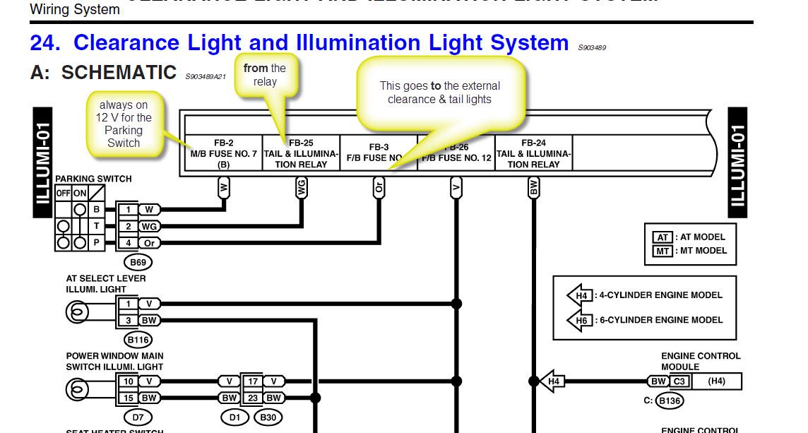 2000 Legacy Wiring Schematics