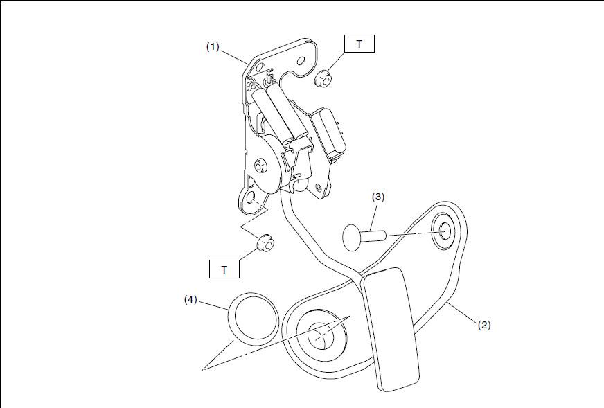 D Code P Throttle Position Sensor Pedal Earlier on Throttle Position Sensor Location