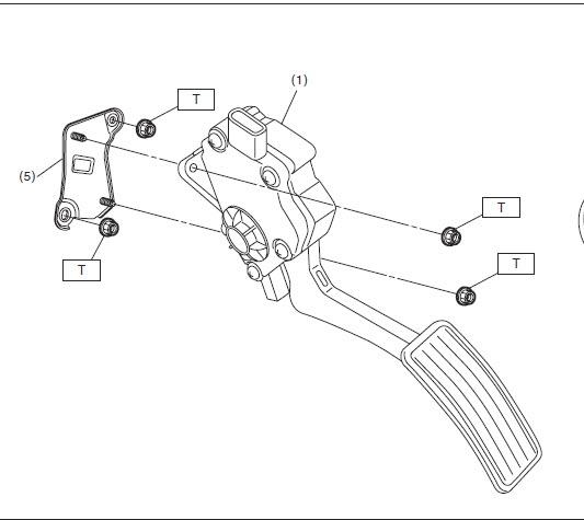 D Code P Throttle Position Sensor Pedal Later on Throttle Position Sensor Location