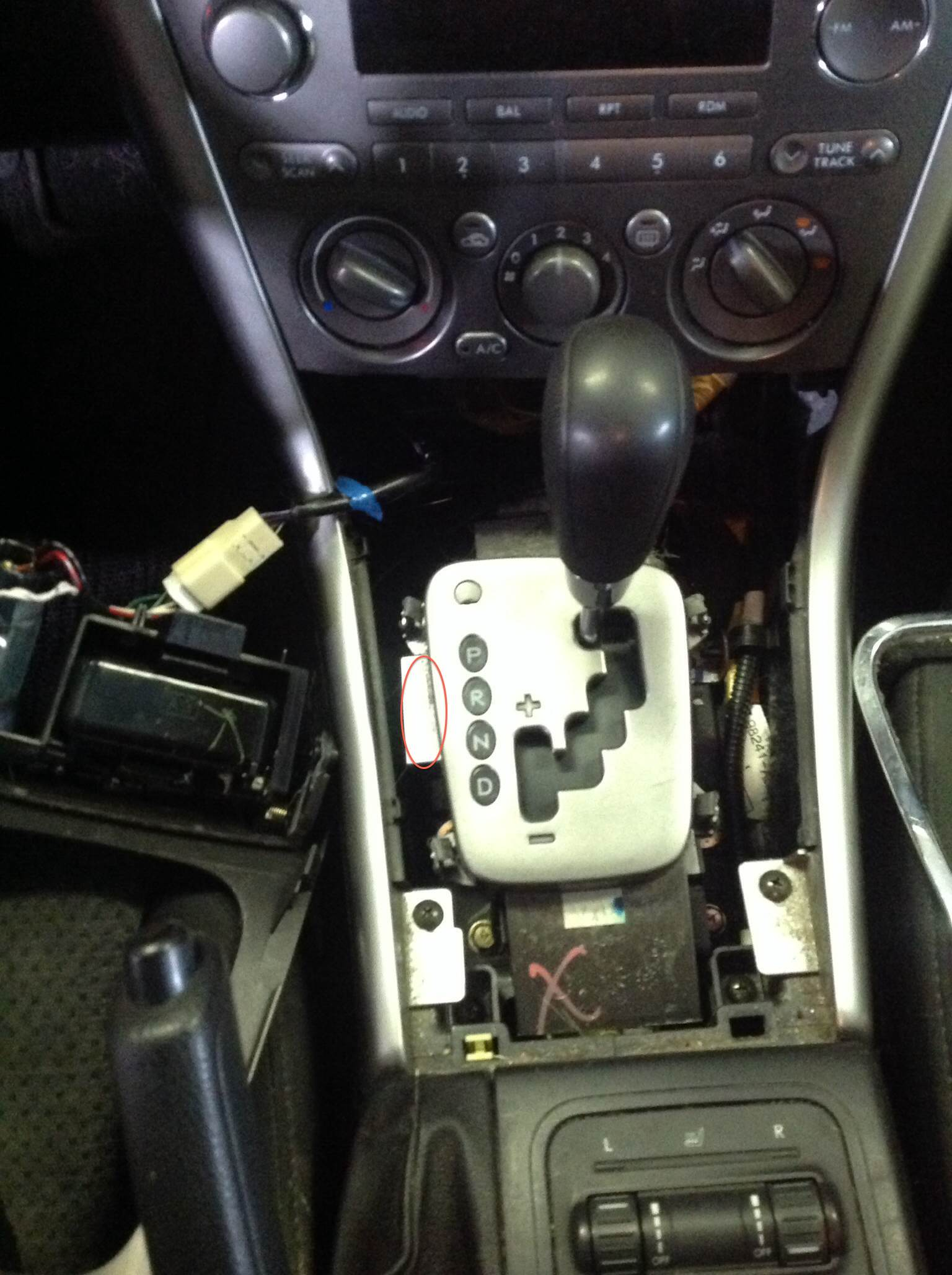 Need To Replace Gear Shifter Light On 2005 Outback