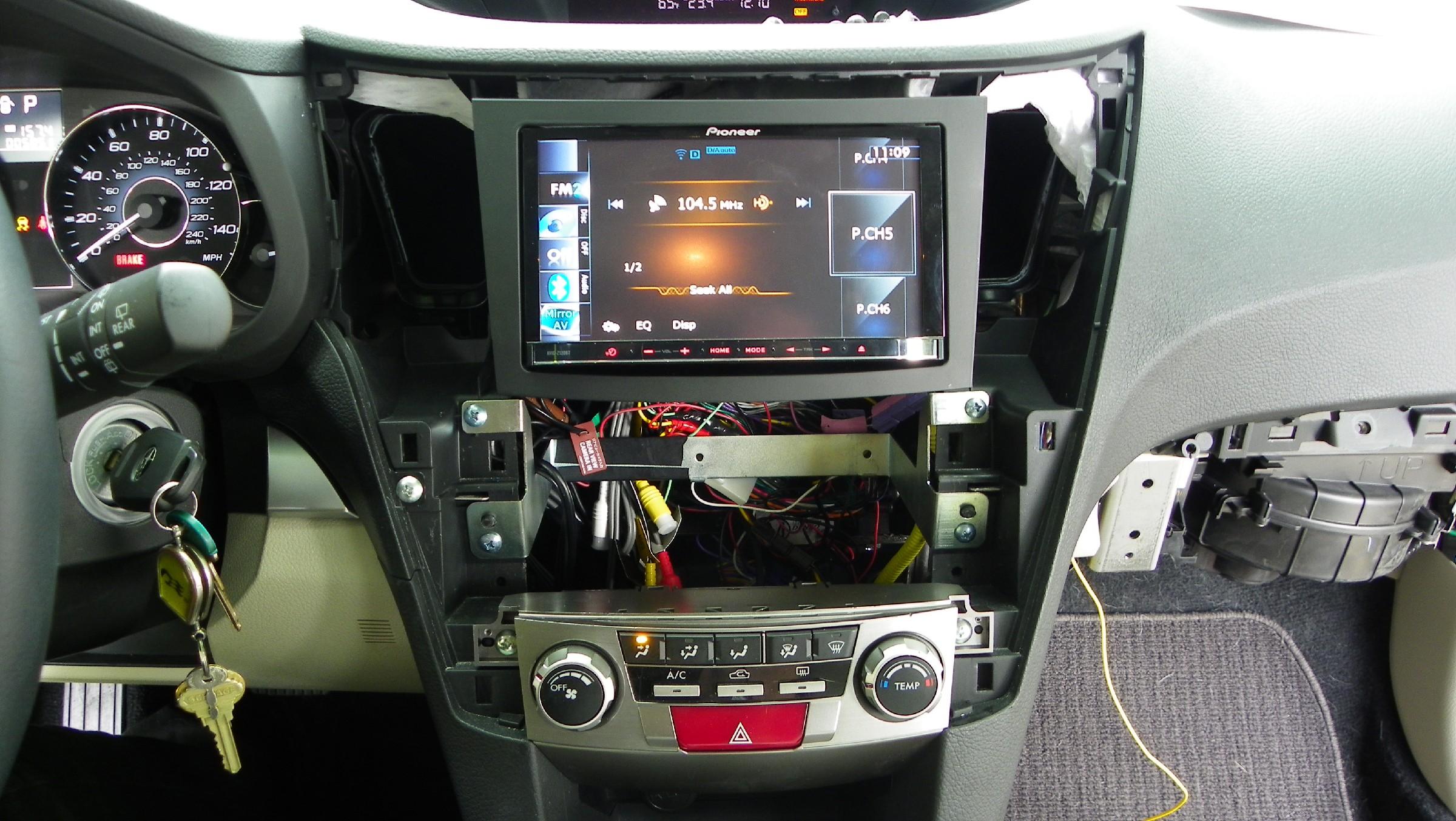 D Aftermarket Stereo Pioneer Install on Harman Kardon Car Stereo