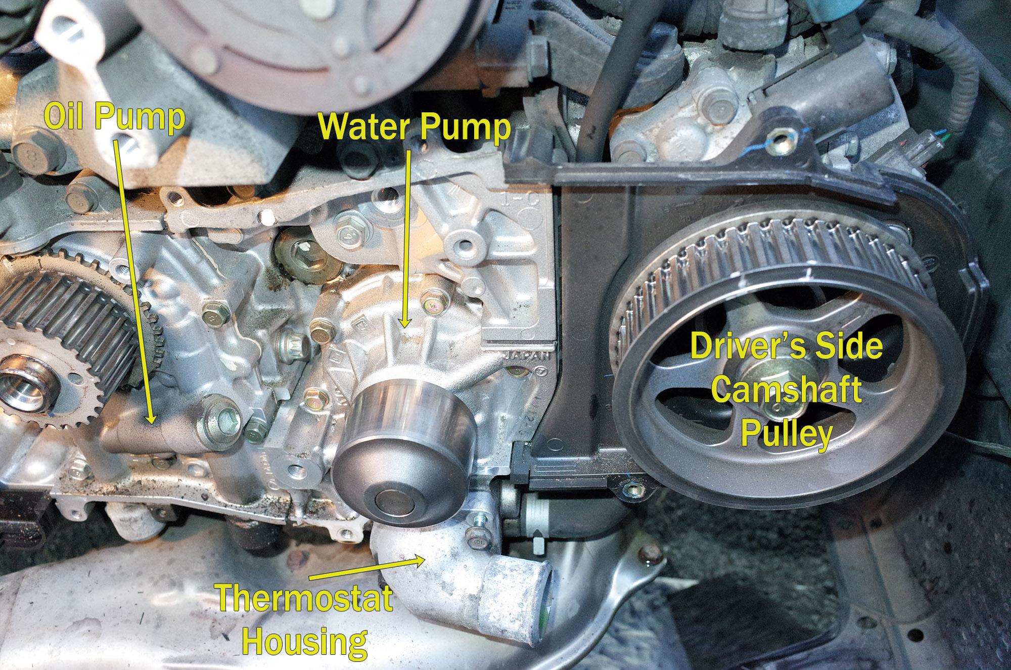 Oil For Subaru Outback >> Timing belt, oil pump, water pump photos - Subaru Outback - Subaru Outback Forums