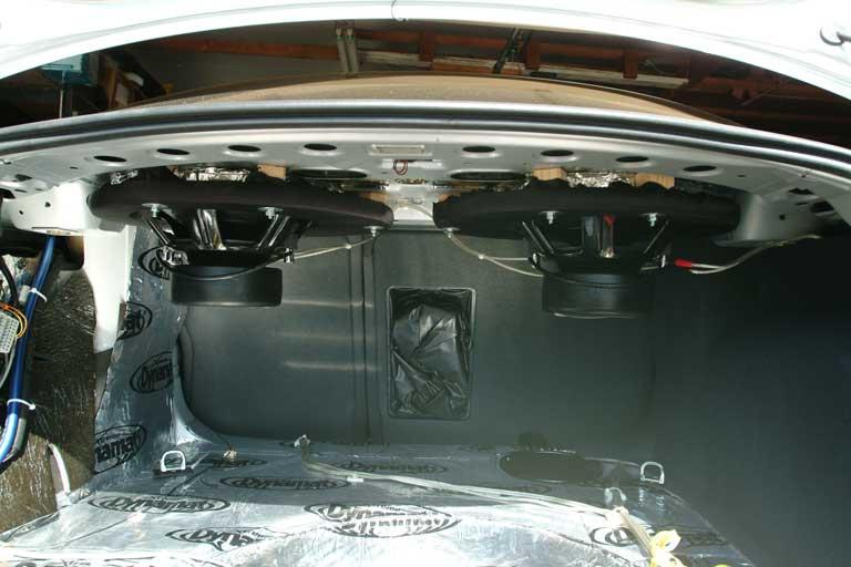 D Aftermarket Stereo Rear Deck Speakers
