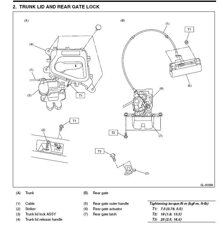 Subaru Ll Bean >> 07 OBW - Rust on that handle on the tailgate... - Subaru ...
