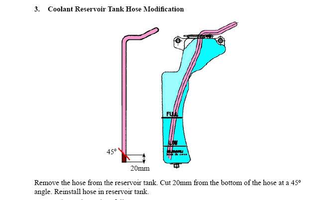 Radiator Overflow Hose Too Long - Subaru Outback - Subaru ...