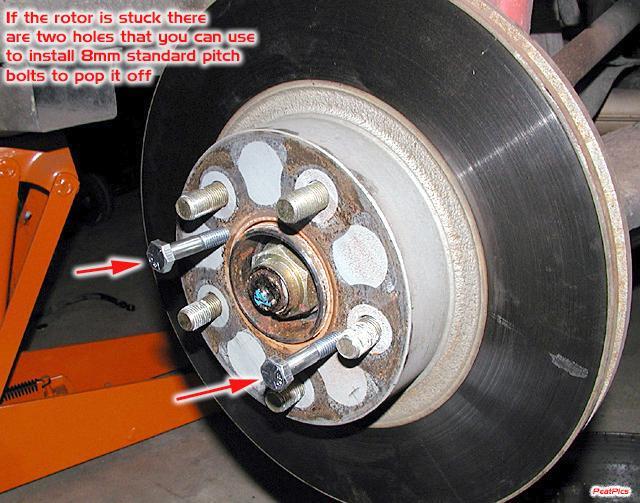 Brake rotor holding screws? - Subaru Outback - Subaru ...