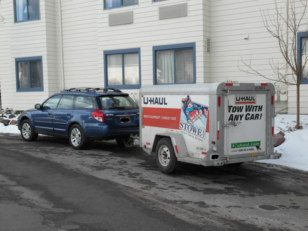 U Haul Quote Towing Uhaul 4X8 With Obxt  Page 5  Subaru Outback  Subaru