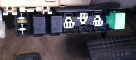 relays under fuse panel subaru outback subaru outback. Black Bedroom Furniture Sets. Home Design Ideas