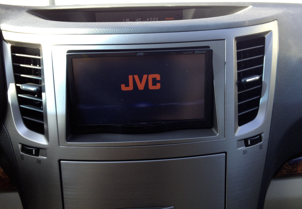 Aftermarket Radio Head Unit For 2012 Outback Subaru
