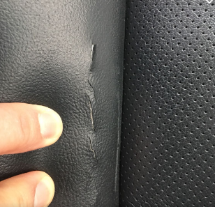 Front Driver Seat Left Side Bolster Cracked Continuously On Its Own Subaru Outback Forums