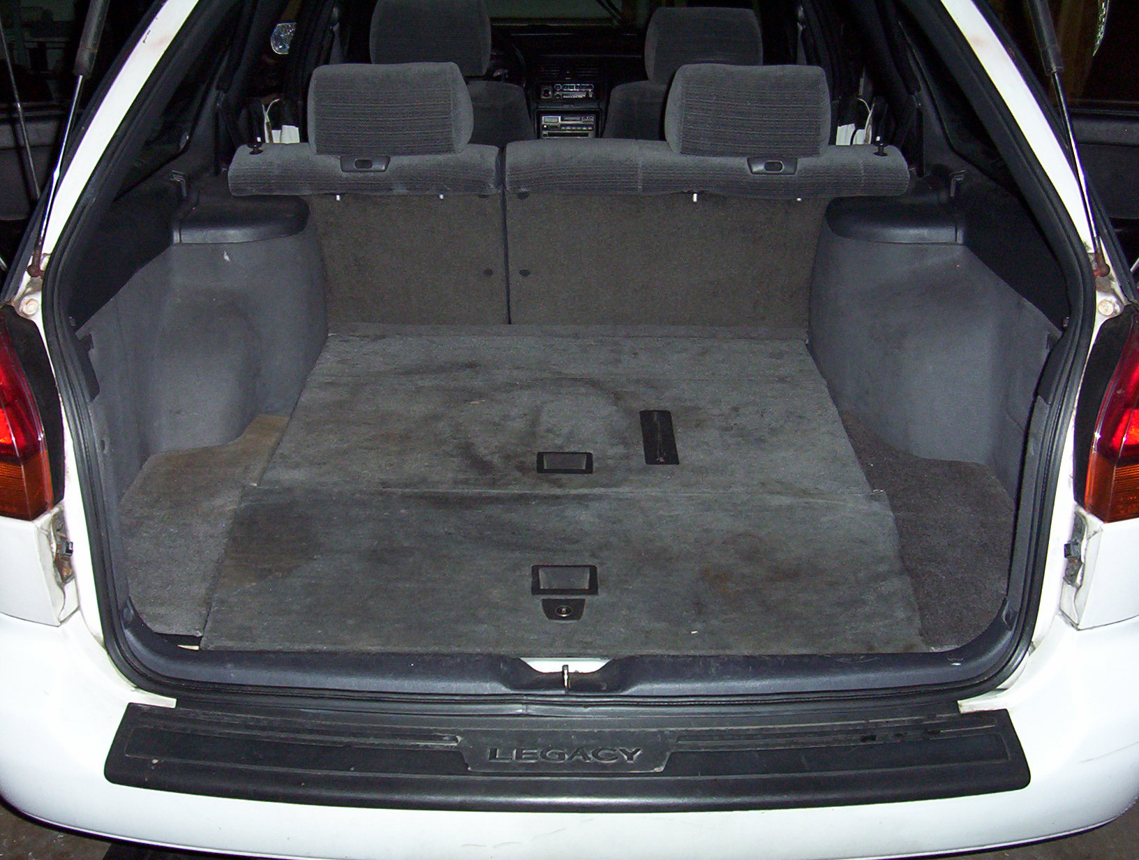 What To Do With Old Car Seats >> Subaru Legacy or Outback 3rd third row folding seat ...