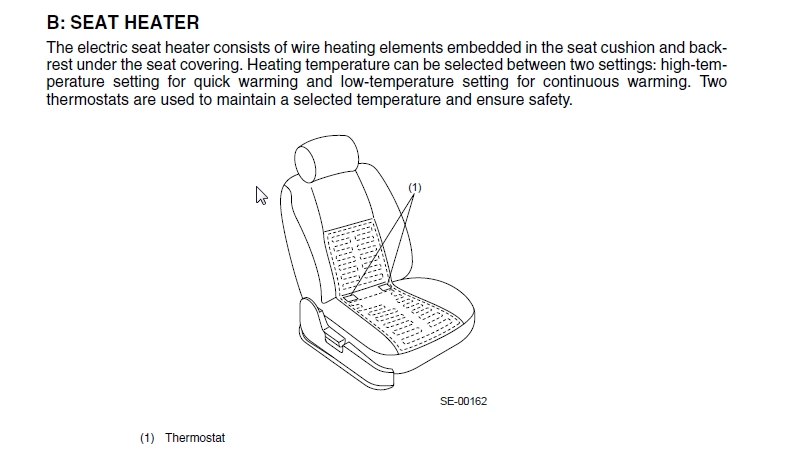 Relay For Heated Seats 2003 H6 Subaru Outback S. Click For Larger Version Name Seat Heater Views 4376 Size. Seat. Heated Seat Relay Wiring Diagram At Scoala.co