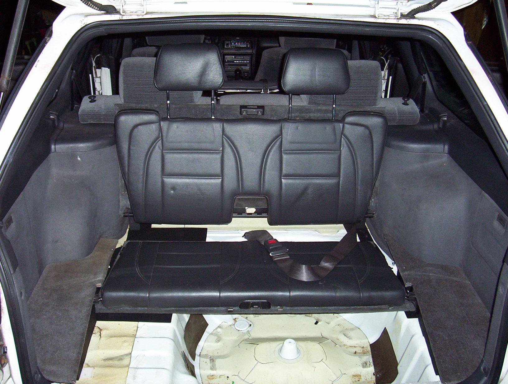 Subaru Legacy Or Outback 3rd Third Row Folding Seat Subaru Outback